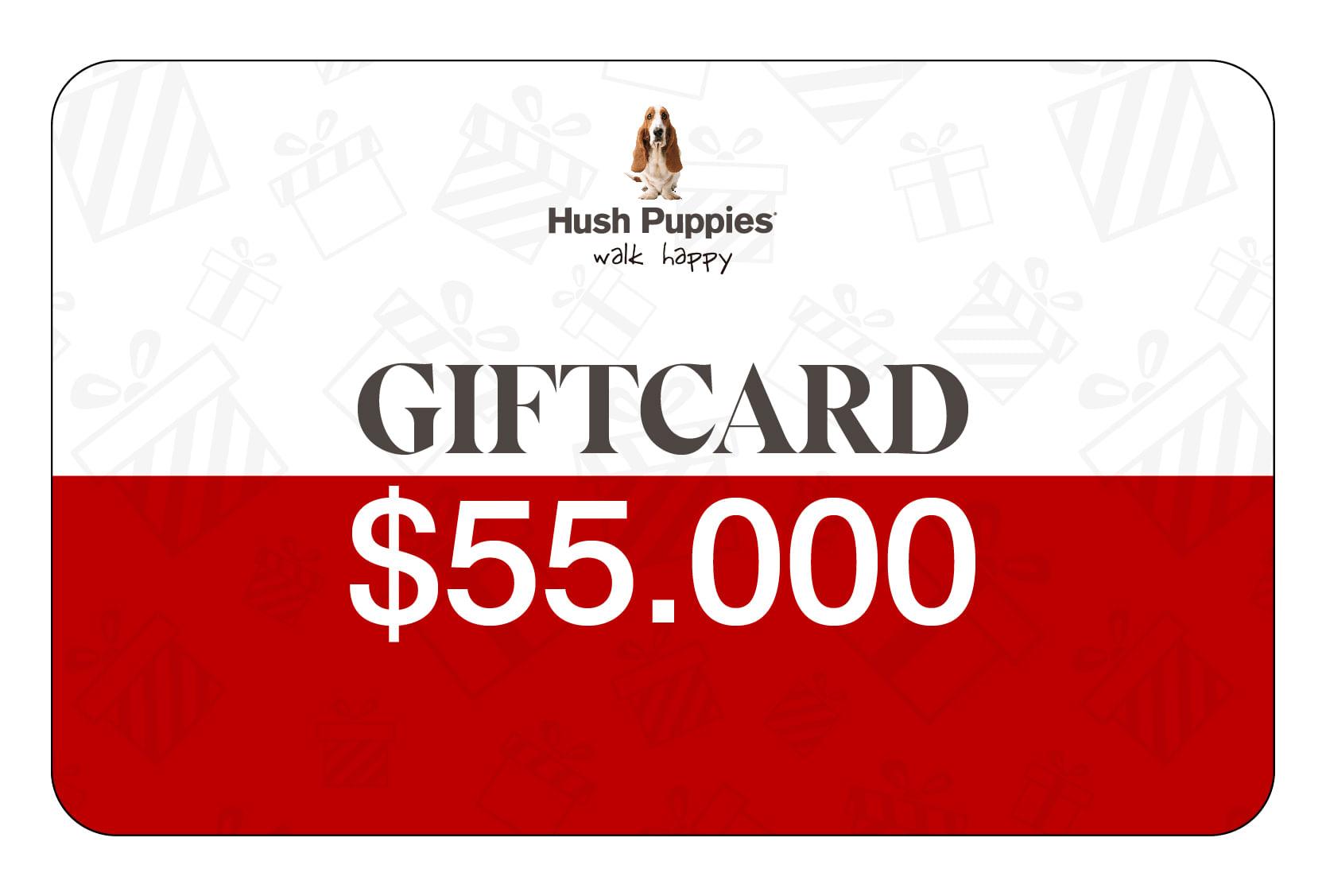 Gift Card $55.000
