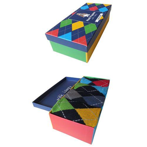 Calcetín Hombre 4Pack Color